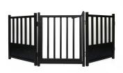 Royal Weave 3pc Freestanding Walk-thru Pet Gate