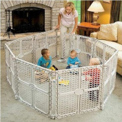 Child Safe Play Yard Gate with 8 panels