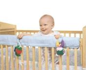 Easy Teether Crib Rail Cover Blue