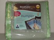 Breathablebaby Breathable Bumper Sage/fauna