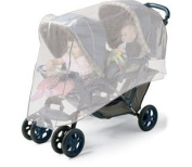 Jolly Jumper Double Stroller Insect - Bug Net Fits Side By Side or Tandem Strollers