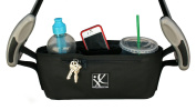 J.L. Childress Cargo 'N Drinks Parent Tray, Black