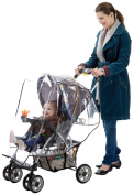 J Is For Jeep Standard Stroller Weather Shield,baby Rain Cover, Universal