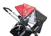 UPPAbaby Rumble Seat Rain Cover, Clear