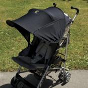 Sunshine Kids Shade Maker Canopy For Strollers, Black