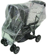 Sasha Kiddie BT - 5R Baby Trend Sit N Stand LX Rain and Wind Cover - Stroller Not Included