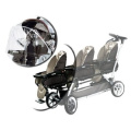 Peg Perego Cover All Weather Hood, Clear