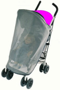 Sasha Kiddie Aprica 2 Aprica Cadence Single Stroller Sun and Wind Cover - Stroller Not Included