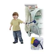 Mommys Helper Padded Adjustable Stroller Strap, Blue