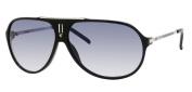 Carrera Hot Sunglasses - Black / Palladium Frame, Azure Gradient Lenses HOTS0CSA1P