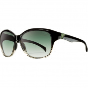 Smith Optics Jetset Premium Lifestyle Polarised Sports Sunglasses/Eyewear - Zebra Split/Green Gradient / Size 58-15-125