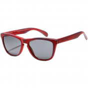 Oakley Skate Deck Frogskins Men's Limited Editions Lifestyle Sunglasses - Matte Red/Grey / One Size Fits All