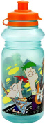Phineas and Ferb 530ml Pull Top Sport Bottle Green