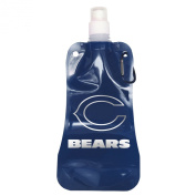 NFL Chicago Bears Foldable Water Bottle-Pack of 2, Blue