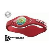Power Balance (Red/White lettering) size Extra Large Wristband Balance Bracelet