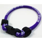 NEW! 17.8cm Purple Single Loop Sports Wristband