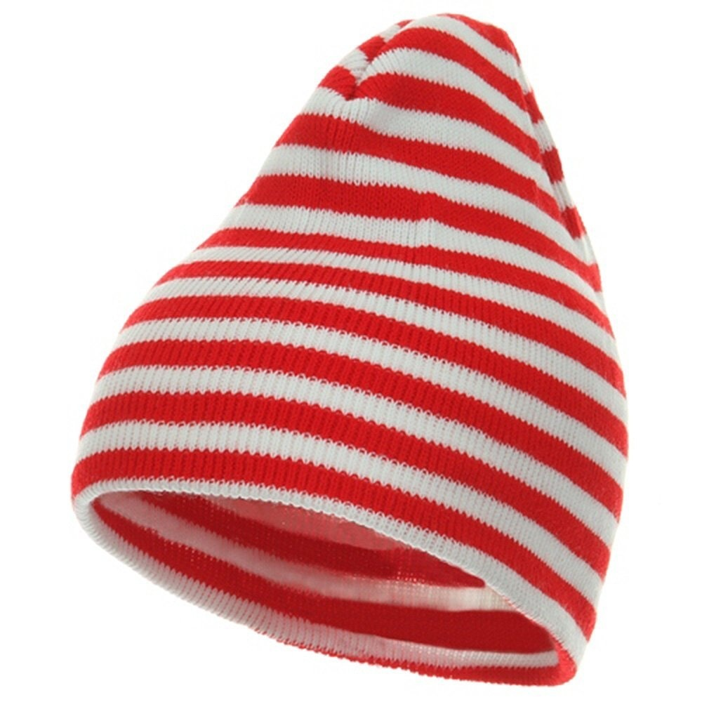 Trendy Striped Beanie - Red White W29S18F by Artex - Shop Online for ... 683dafcff83