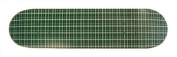 Moose 19.1cm Green Plaid Skateboard Deck