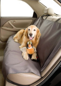 Dog Car Seat Cover for Pets- Rear Bench (142.2cm W) Colour Slate
