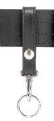 Safariland 169S Key Ring 1 Snap, Plain Black