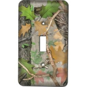 Rivers Edge 548 Fall Transition Camo Single Switch Cover.
