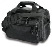 Uncle Mike's Law Enforcement Side-Armour Deluxe Range Bag, Black