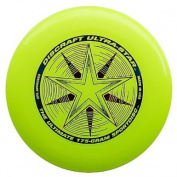 Discraft Ultra-Star 175g Ultimate Frisbee Disc - Yellow