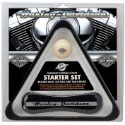 Harley-Davidson® Midnight Chrome Billiard Starter Set