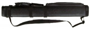 3x6 Hard Pool Cue Billiard Stick Carrying Case, Black