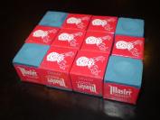 Blue Master BOX of Dozen Pool Cue Tip CHALK