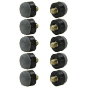 Screw-On Tips for Pool Cues - 12mm - Soft