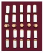 12 mm Pool Cue Stick - Billiard Slip Push on Tips Lot of 25