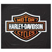 Harley-Davidson 2.4m Black Vinyl Pool Table Cover HDL-11160