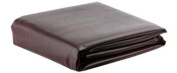 Burgundy Leatherette Pool Table Cover - 2.1m