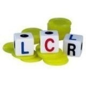 LCR DICE GAME (Green) by George & Co.