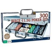 Cardinal 300 11.5 gramme Poker Chips in Aluminium Case