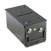 Steel Rake Toke Drop Box with Bill Slot For Poker Table