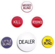 Brybelly Poker Button Set