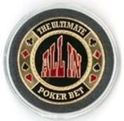 All In Design Poker Card Guard