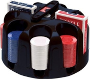 Bicycle Carousel Poker Set, 200 2-Gramme Poker Chips and 2 Decks of Bicycle Cards