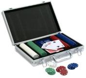 Pavilion (200 Chips) Poker Set with Aluminium Case