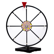 40.6cm White Dry Erase Prize Wheel By Midway Monsters