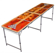 Beer Pong Table 2.4m Portable Folding Outdoor Indoor College Party New
