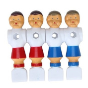 4 PCS Old Style Foosball Soccer Table Men Player