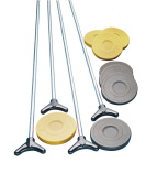 Champion Sports Outdoor Shuffleboard Cue and Puck Set