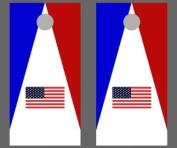 United States Flag Cornhole Game - Triangle 2