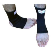 Pro Impact Muay Thai MMA Ankle Support Wraps (1 Pair) - LARGE