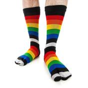 V-TOE Japanese Ninja Tabi Socks RAINBOW - 1 Size Senior ,Super Cool Socks