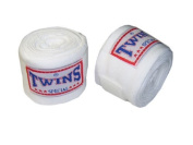 Twins BOXING Handwraps : White