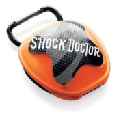 Shock Doctor Antimicrobial Microbial Mouth Guard Case, Red